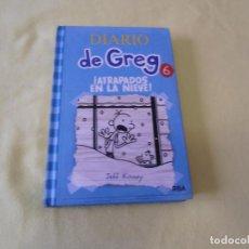 Libros antiguos: DIARIO DE GREG 6 - ATRAPADOS EN LA NIEVE - POR JEFF KINNEY. Lote 173880042