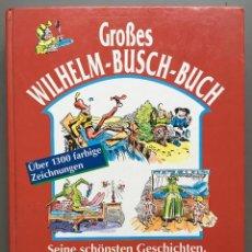 Livres anciens: WILHELM-BUSCH-BUCH (LIBRO PARA NIÑOS DEL PINTOR Y CARICATURISTA ALEMÁN). Lote 145028738