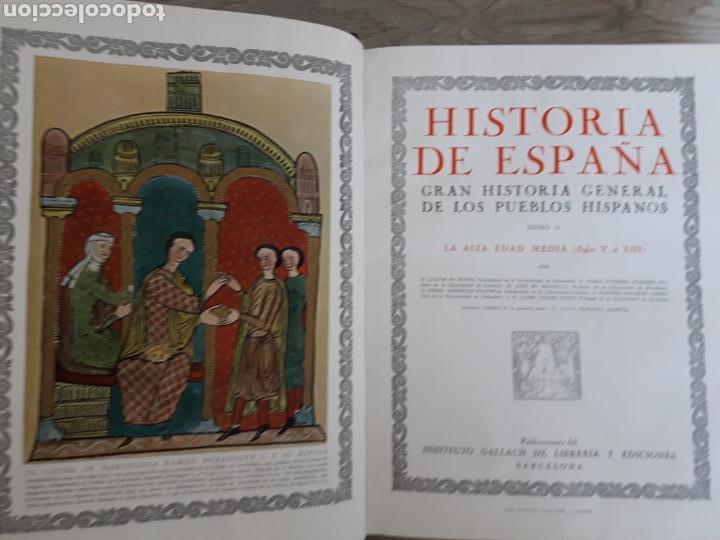 Libros antiguos: Historia de España. Inst .Gallach 1934 - Foto 5 - 145064424