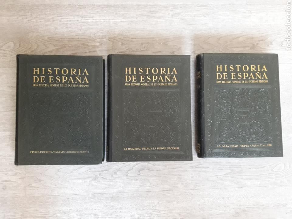 Libros antiguos: Historia de España. Inst .Gallach 1934 - Foto 9 - 145064424