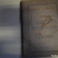 Libros antiguos: LIBRO MOTORES DE LA AVIACIÓN - 73 LAMINAS. Lote 145129202