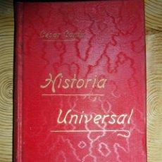 Libros antiguos: HISTORIA UNIVERSAL. TOMO VII. CESAR CANTU. GASSO HERMANOS EDITORES. BARCELONA. Lote 145186762
