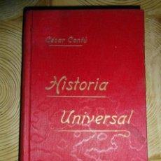 Libros antiguos: HISTORIA UNIVERSAL. TOMO VIII. CESAR CANTU. GASSO HERMANOS EDITORES. BARCELONA. Lote 145186962