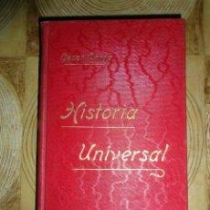 Libros antiguos: HISTORIA UNIVERSAL. TOMO XVI. CESAR CANTU. GASSO HERMANOS EDITORES. BARCELONA. Lote 145189602
