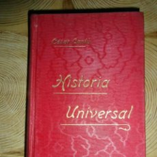 Libros antiguos: HISTORIA UNIVERSAL. TOMO XIX. CESAR CANTU. GASSO HERMANOS EDITORES. BARCELONA. Lote 145191054