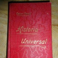 Libros antiguos: HISTORIA UNIVERSAL. TOMO XXI. CESAR CANTU. GASSO HERMANOS EDITORES. BARCELONA. Lote 145194430