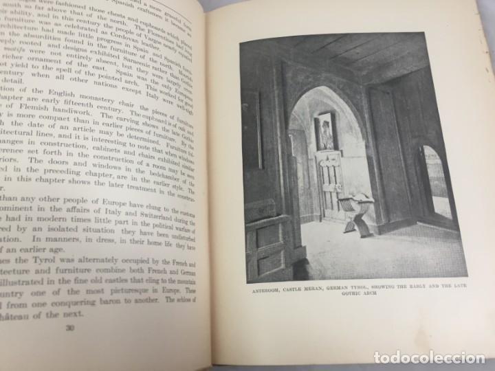 Libros antiguos: Historic Styles in Furnitures Estilos Históricos en Muebles Virginia Robie 1905 en inglés Ilustrado - Foto 4 - 145224642