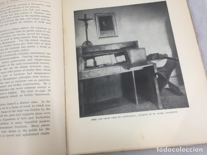 Libros antiguos: Historic Styles in Furnitures Estilos Históricos en Muebles Virginia Robie 1905 en inglés Ilustrado - Foto 6 - 145224642