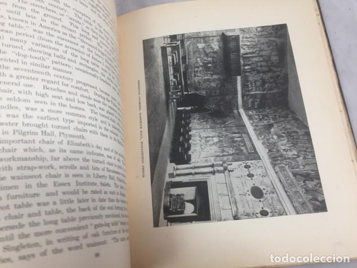 Libros antiguos: Historic Styles in Furnitures Estilos Históricos en Muebles Virginia Robie 1905 en inglés Ilustrado - Foto 9 - 145224642