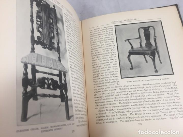 Libros antiguos: Historic Styles in Furnitures Estilos Históricos en Muebles Virginia Robie 1905 en inglés Ilustrado - Foto 12 - 145224642