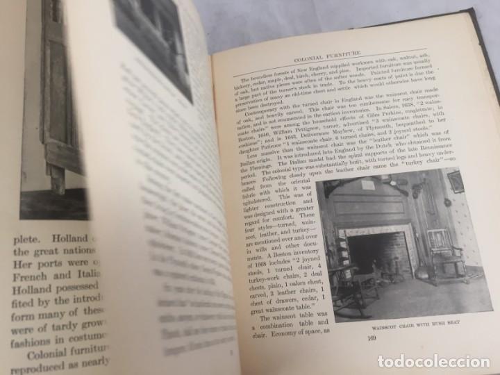 Libros antiguos: Historic Styles in Furnitures Estilos Históricos en Muebles Virginia Robie 1905 en inglés Ilustrado - Foto 13 - 145224642