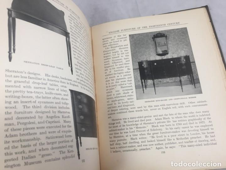 Libros antiguos: Historic Styles in Furnitures Estilos Históricos en Muebles Virginia Robie 1905 en inglés Ilustrado - Foto 14 - 145224642