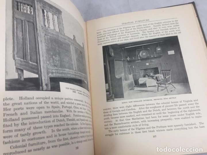 Libros antiguos: Historic Styles in Furnitures Estilos Históricos en Muebles Virginia Robie 1905 en inglés Ilustrado - Foto 15 - 145224642