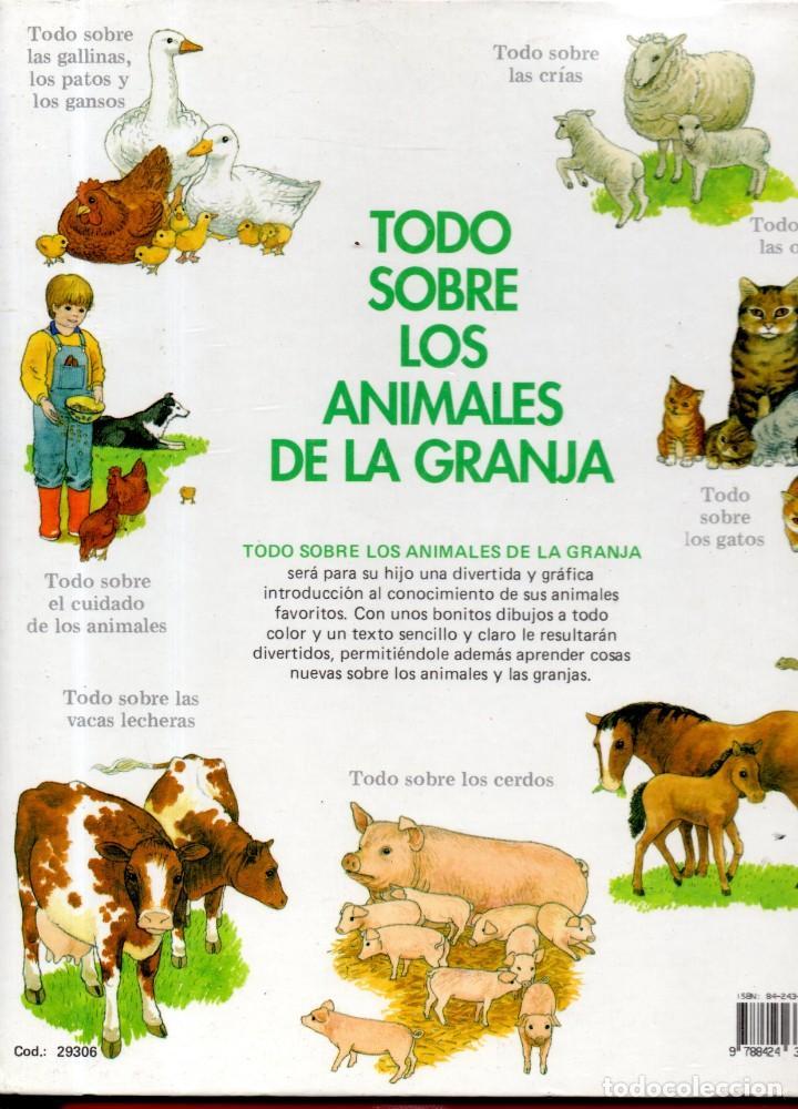 Libros antiguos: VESIV LIBRO TODO SOBRE LOS ANIMALES DE LA GRANJA DE BRENDA COOK - Foto 2 - 145225662