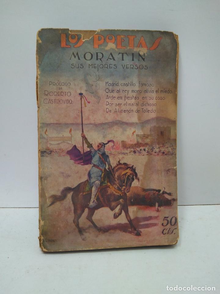 LIBRO - LOS POETAS - MORATIN - SUS MEJORES VERSOS / N-7915 (Libros Antiguos, Raros y Curiosos - Bellas artes, ocio y coleccionismo - Otros)
