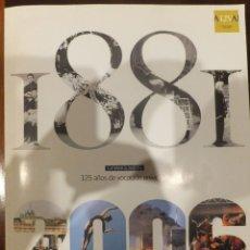 Libros antiguos: LA VANGUARDIA - 125 ANIVERSARIO DE SU FUNDACION . Lote 145378094
