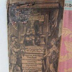 Libros antiguos: 1666-ORDENES MILITARES ESPAÑA.TRATADOS.ESCUDO CASTILLA-COLÓN.PEDRO NUÑO.DUQUE DE VERAGUAS.ORIGINAL . Lote 145433898