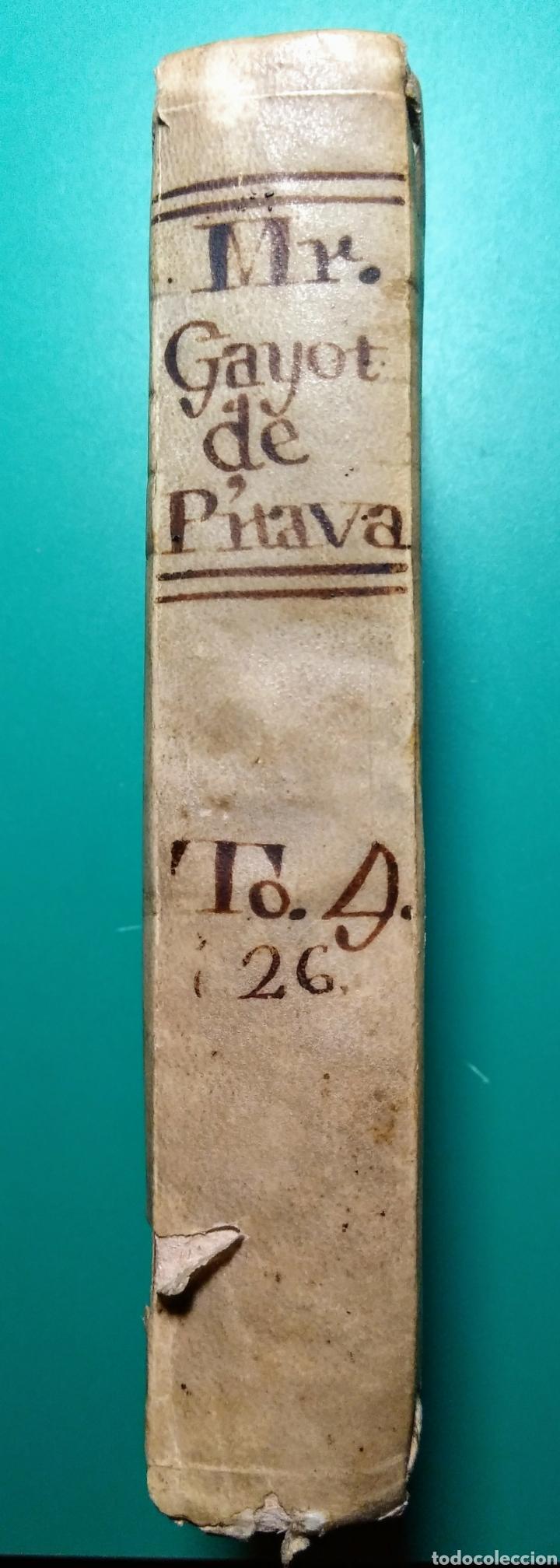 Libros antiguos: Causes Célebres et Intéressantes. Año 1775. par Mr. J.C de La Ville. - Foto 3 - 145550757