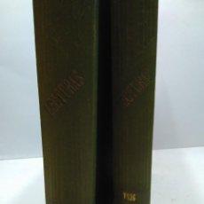 Libros antiguos: LIBRO - LOTE DE 12 REVISTAS: LECTURAS - AÑO COMPLETO AÑO 1936 I & II / N-8185. Lote 145616434