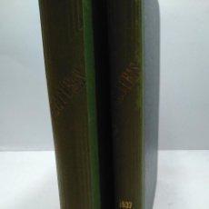 Libros antiguos: LIBRO - LOTE DE 12 REVISTAS: LECTURAS - AÑO COMPLETO AÑO 1937 I & II / N-8186. Lote 145616626