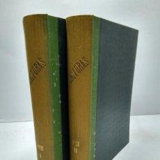 Libros antiguos: LIBRO - LOTE DE 12 REVISTAS: LECTURAS - AÑO COMPLETO AÑO 1925 I & II / N-8197. Lote 145621078