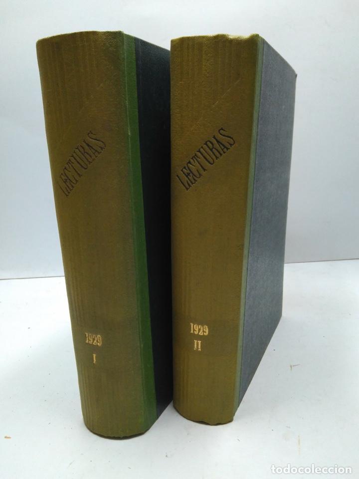 LIBRO - LOTE DE 12 REVISTAS: LECTURAS - AÑO COMPLETO AÑO 1929 I & II / N-8200 (Libros Antiguos, Raros y Curiosos - Bellas artes, ocio y coleccionismo - Otros)