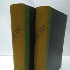 Libros antiguos: LIBRO - LOTE DE 12 REVISTAS: LECTURAS - AÑO COMPLETO AÑO 1923 I & II / N-8203. Lote 145624106