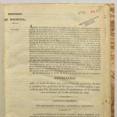 Libros antiguos: APENAS CONCLUIDOS EN TODOS LOS PUEBLOS DEL REINO LOS REPARTIMIENTOS INDIVIDUALES DE LOS CUPOS QUE.... Lote 145671684