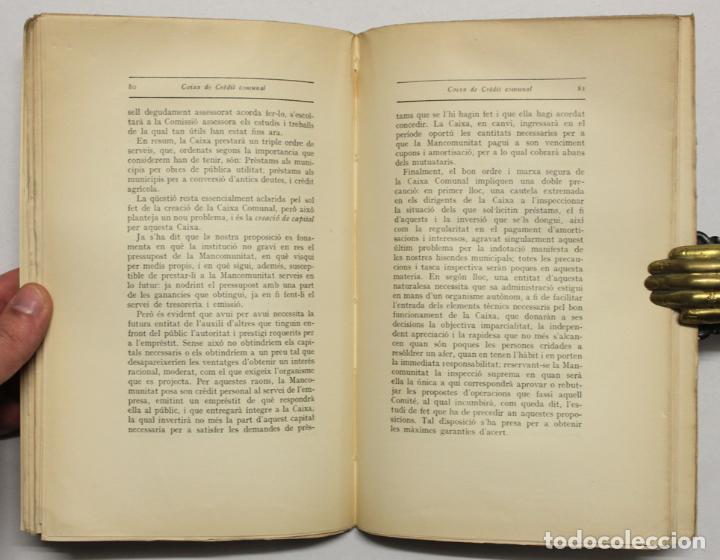 Libros antiguos: PROJECTES DACORD PRESENTATS A LA PRIMERA REUNIÓ ORDINARIA DE LASSAMBLEA. - Foto 2 - 145671712