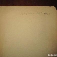 Libros antiguos: ANARQUIA O LEY LIBRO OBRA TEATRO ORIGINAL INEDITO SOBRE GUERRA . Lote 145689574