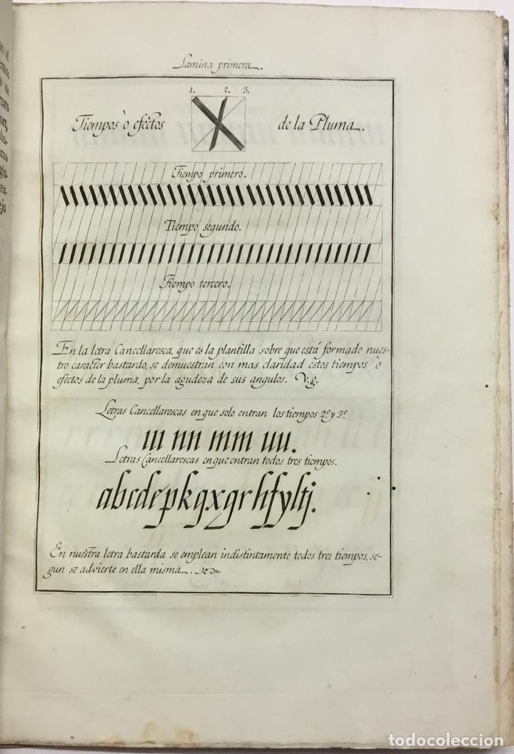 Libros antiguos: XIMENEZ, Esteban. ARTE DE ESCRIBIR COMPUESTO POR D. ... siguiendo el metodo y buen gusto de D. Franc - Foto 3 - 145699794
