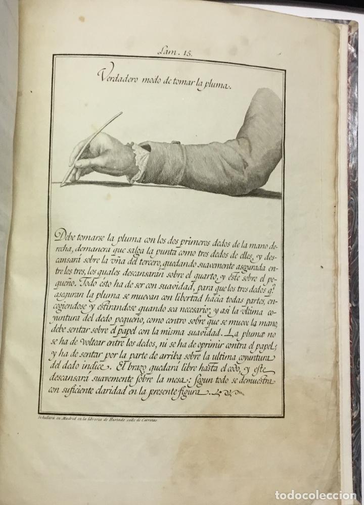 Libros antiguos: XIMENEZ, Esteban. ARTE DE ESCRIBIR COMPUESTO POR D. ... siguiendo el metodo y buen gusto de D. Franc - Foto 7 - 145699794