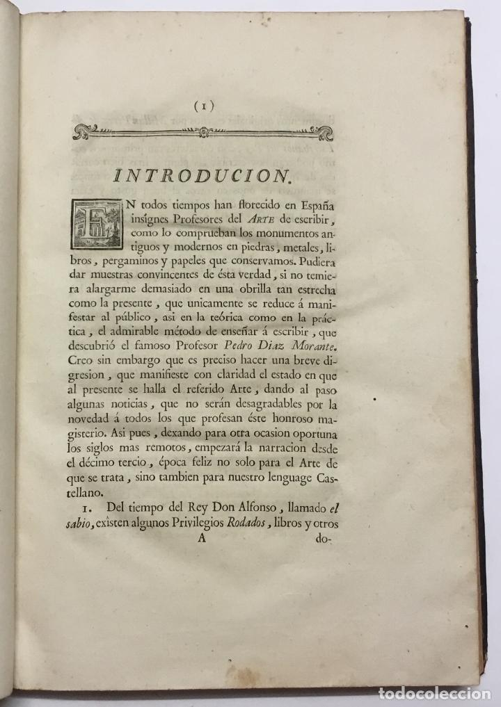 Libros antiguos: PALOMARES. ARTE NUEVA DE ESCRIBIR.... SANCHA. MADRID, 1776. 40 GRABADOS ASSENSIO Y MEJORADA - Foto 2 - 145707150