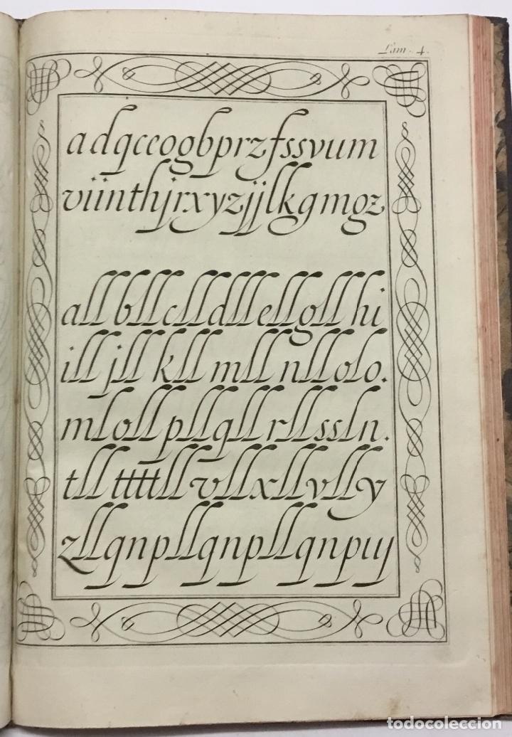 Libros antiguos: PALOMARES. ARTE NUEVA DE ESCRIBIR.... SANCHA. MADRID, 1776. 40 GRABADOS ASSENSIO Y MEJORADA - Foto 4 - 145707150
