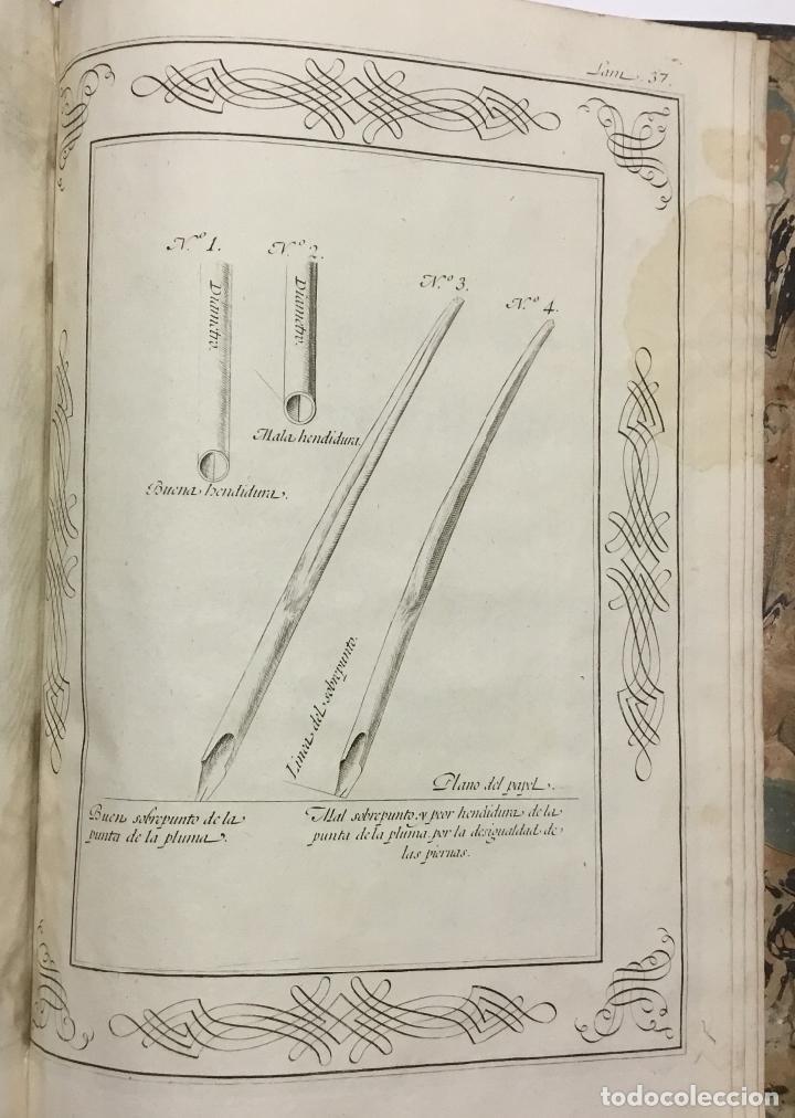 Libros antiguos: PALOMARES. ARTE NUEVA DE ESCRIBIR.... SANCHA. MADRID, 1776. 40 GRABADOS ASSENSIO Y MEJORADA - Foto 5 - 145707150