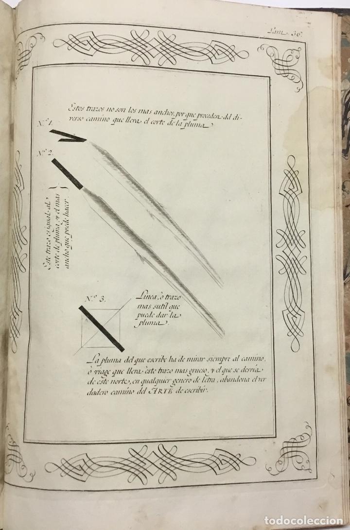 Libros antiguos: PALOMARES. ARTE NUEVA DE ESCRIBIR.... SANCHA. MADRID, 1776. 40 GRABADOS ASSENSIO Y MEJORADA - Foto 7 - 145707150