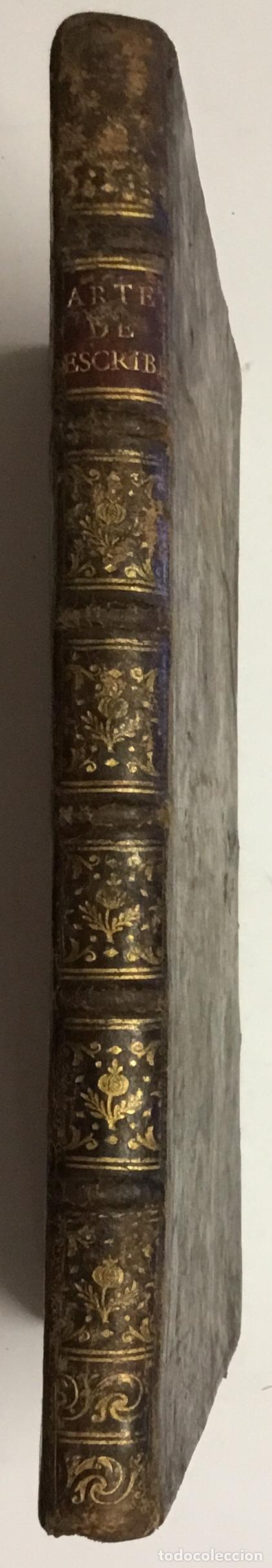 Libros antiguos: PALOMARES. ARTE NUEVA DE ESCRIBIR.... SANCHA. MADRID, 1776. 40 GRABADOS ASSENSIO Y MEJORADA - Foto 10 - 145707150