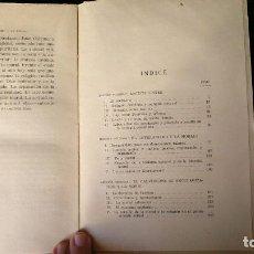 Libros antiguos: EL PROTESTANTISMO Y LA MORAL. JOSE LUIS ARANGUREN. ED. SAPIENTIA, 1954. Lote 145800994