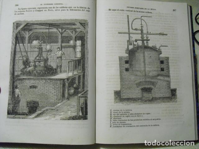 Libros antiguos: 1879 EL TINTORERO MODERNO JORGE JARMAIN - Foto 4 - 145841974