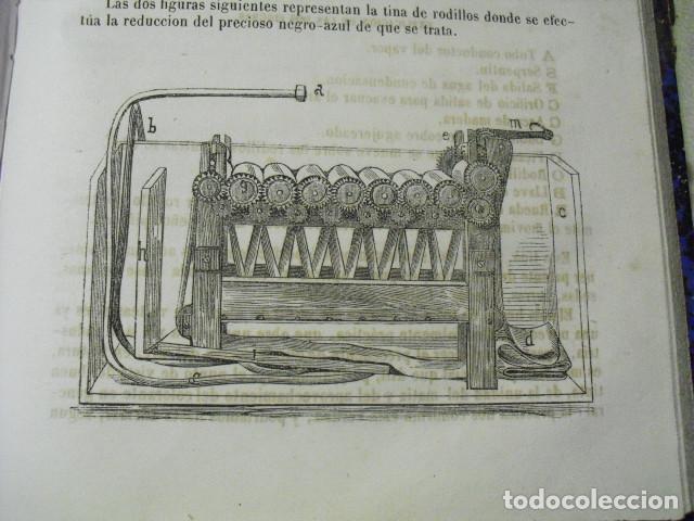 Libros antiguos: 1879 EL TINTORERO MODERNO JORGE JARMAIN - Foto 5 - 145841974