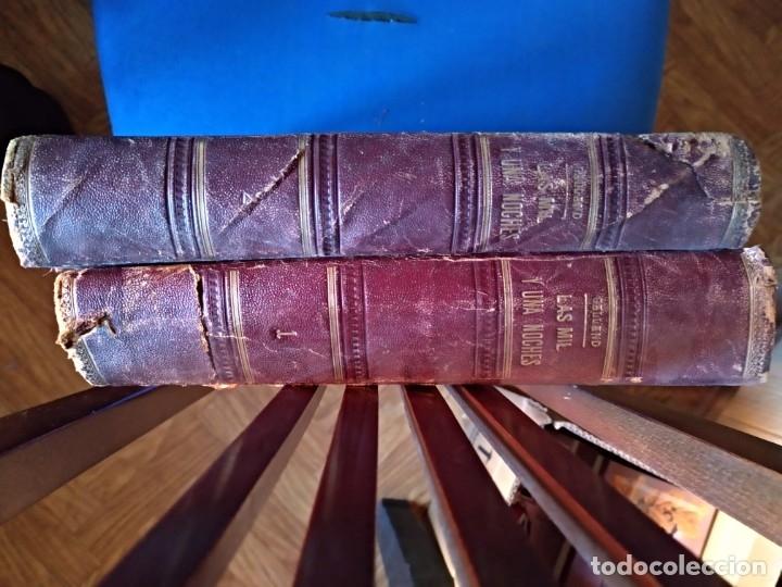 Libros antiguos: Galland Antonio LAS MIL Y UNA NOCHES (2 tomos) Molinas y Maza GASTOS DE ENVIO GRATIS - Foto 3 - 6298914