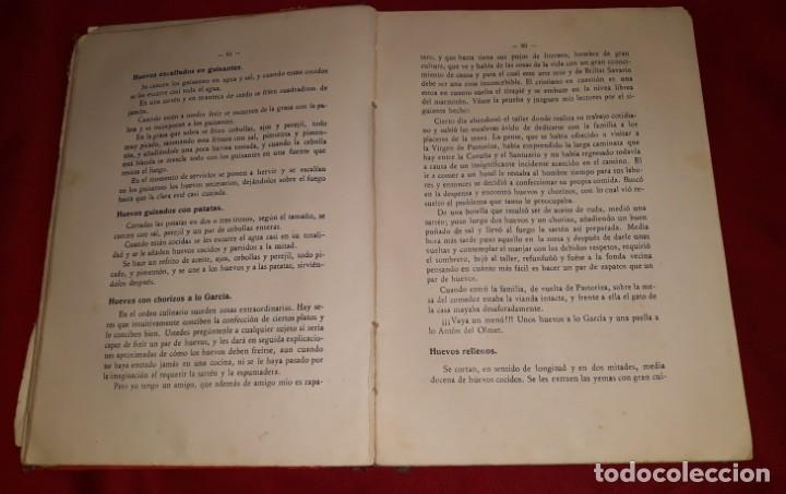 Libros antiguos: LA COCINA PRÁCTICA - MANUEL Mª PUGA Y PARGA (PICADILLO) - Foto 2 - 145952478