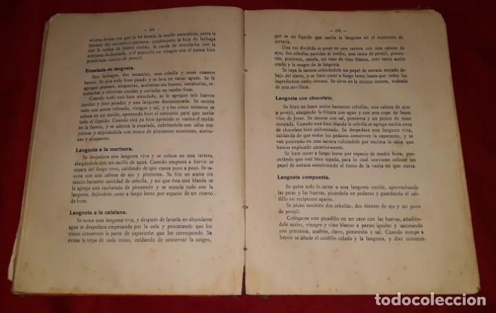 Libros antiguos: LA COCINA PRÁCTICA - MANUEL Mª PUGA Y PARGA (PICADILLO) - Foto 3 - 145952478