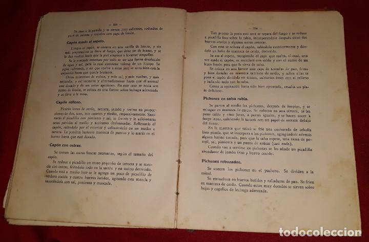 Libros antiguos: LA COCINA PRÁCTICA - MANUEL Mª PUGA Y PARGA (PICADILLO) - Foto 4 - 145952478
