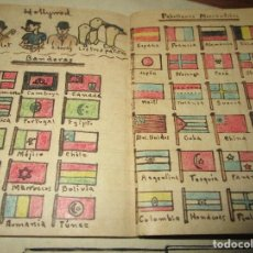 Libros antiguos: LIBRITO MANUSCRITO CARACTER MILITAR POESIA DIBUJOS BANDERAS MORSE. Lote 146009814