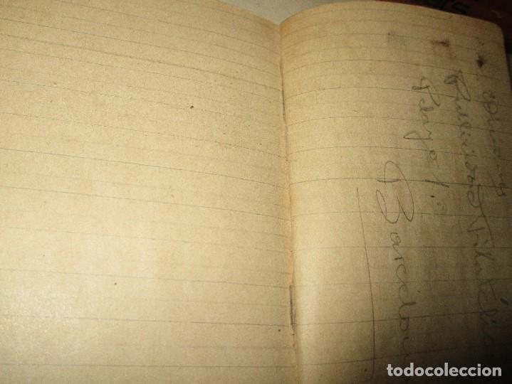 Libros antiguos: LIBRITO MANUSCRITO CARACTER MILITAR POESIA DIBUJOS BANDERAS MORSE - Foto 4 - 146009814