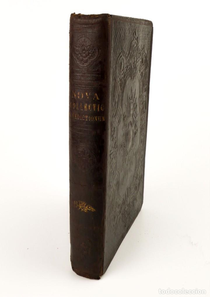 D.D.MARIANO PUIGLLAT-NOVA COLLECTIO - LIBRO DE EXORCISMOS Y BENDICIONES - AÑO 1868 (Libros Antiguos, Raros y Curiosos - Pensamiento - Otros)