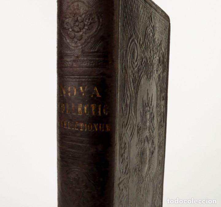 Libros antiguos: D.D.Mariano Puigllat-Nova Collectio - Libro de exorcismos y Bendiciones - año 1868 - Foto 7 - 146152602