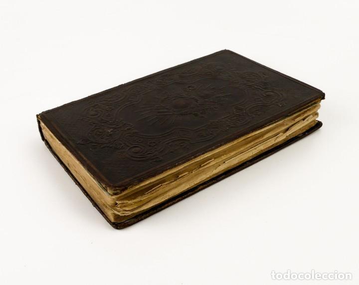 Libros antiguos: D.D.Mariano Puigllat-Nova Collectio - Libro de exorcismos y Bendiciones - año 1868 - Foto 8 - 146152602