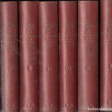 Libros antiguos: DOCTOR CABANÉS : LAS INDISCRECIONES DE LA HISTORIA - 6 TOMOS (MERCURIO, 1927). Lote 146253542